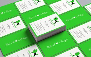 Green Canine Business Cards